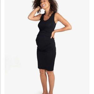Black Ingrid and Isabel maternity dress